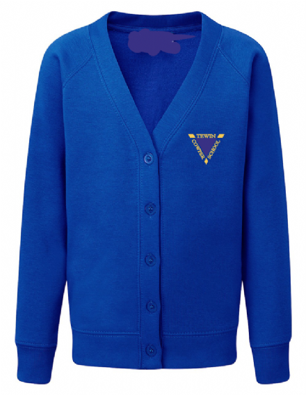 Tewin Cowper Primary Royal Cardigan